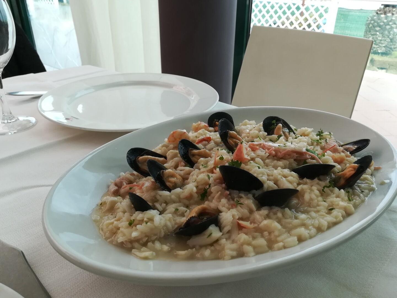 Ristorante Chalet Lido Nordest - Ristorante Di Pesce - Pizzeria - Spiaggia - Mare - Grottammare - San Benedetto Del Tronto - Ascoli Piceno - Marche - Risotto Alla Marinara