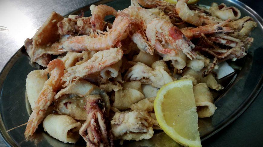 Calamari E Gamberi Fritti Ristorante Chalet Lido Nordest Ristorante Di Pesce Pizzeria Spiaggia Mare Grottammare San Benedetto Del Tronto Ascoli Piceno Marche 1