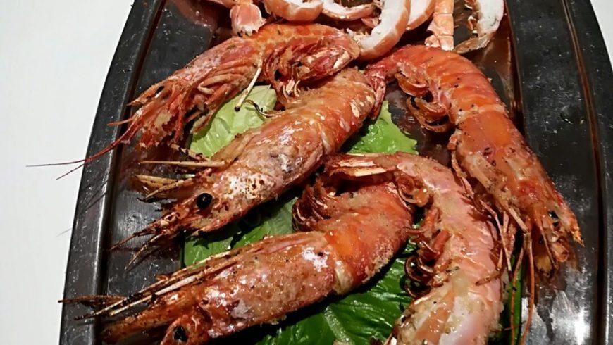 Gamberoni E Scampi Grigliati Ristorante Chalet Lido Nordest Ristorante Di Pesce Pizzeria Spiaggia Mare Grottammare San Benedetto Del Tronto Ascoli Piceno Marche 1