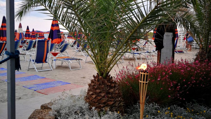 Il Verde E La Spiaggia Ristorante Chalet Lido Nordest Ristorante Di Pesce Pizzeria Spiaggia Mare Grottammare San Benedetto Del Tronto Ascoli Piceno Marche