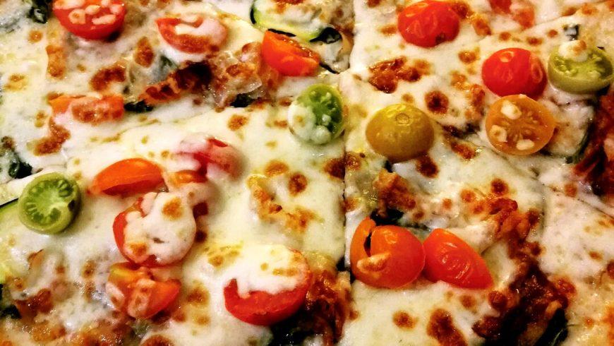 Pizza Vegetariana Ristorante Chalet Lido Nordest Ristorante Di Pesce Pizzeria Spiaggia Mare Grottammare San Benedetto Del Tronto Ascoli Piceno Marche