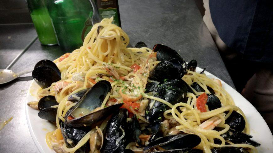 Spaghetti Allo Scoglio Ristorante Chalet Lido Nordest Ristorante Di Pesce Pizzeria Spiaggia Mare Grottammare San Benedetto Del Tronto Ascoli Piceno Marche 1