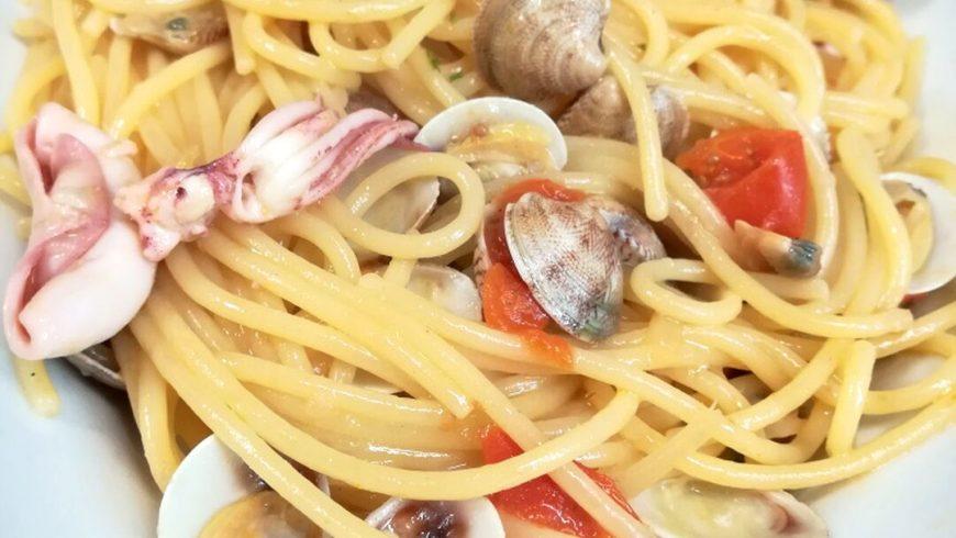 Spaghetto Alla Vongole E Totanelli Ristorante Chalet Lido Nordest Ristorante Di Pesce Pizzeria Spiaggia Mare Grottammare San Benedetto Del Tronto Ascoli Piceno Marche 1