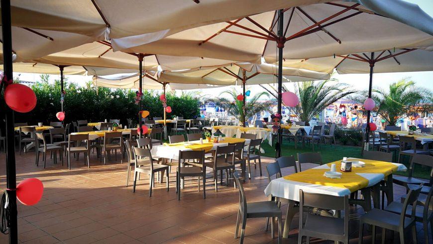 Zona Ristorante Allaperto Ristorante Chalet Lido Nordest Ristorante Di Pesce Pizzeria Spiaggia Mare Grottammare San Benedetto Del Tronto Ascoli Piceno Marche